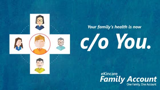 Your family's health is now C/o of you!