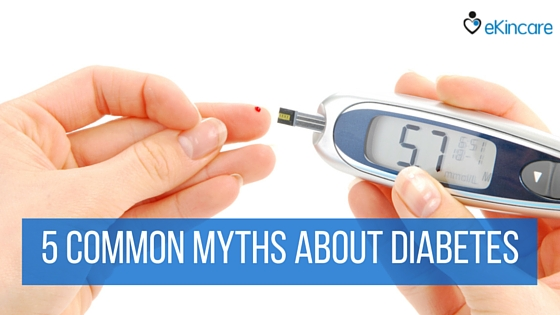 5 common myths about diabetes