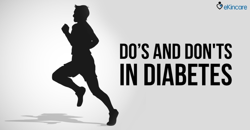 Dos and Don'ts in Diabetes