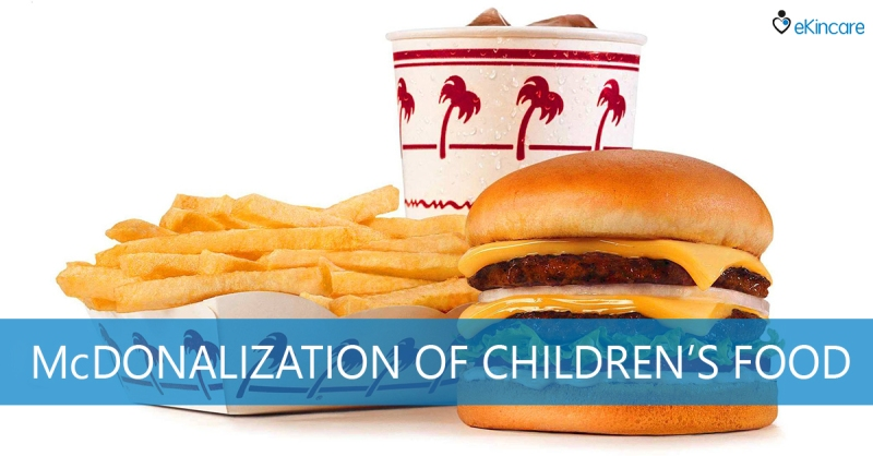 McDonald's fast food is unhealthy for children