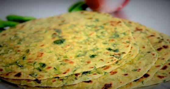 Healthy recipes – Methi thepla