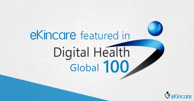 eKincare featured in the Global Digital Health 100 AwardList