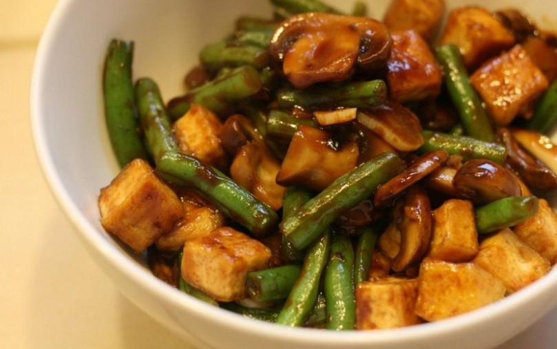 healthy recipe involving mushroom