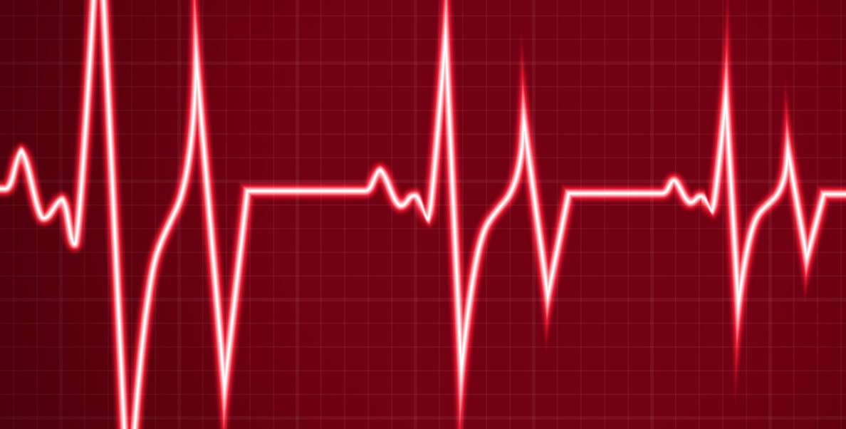What does an abnormal heart rate indicate?