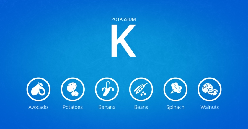 Food sources of potassium in our body