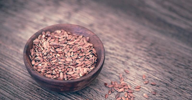 Superfood flaxseeds