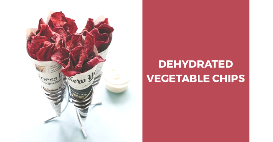 Dehydrated vegetable chips